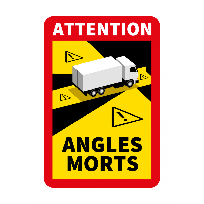 Poids Lourd Angles Morts Camion