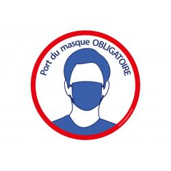 Port du Masque Obligatoire x2