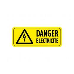 Sticker Danger Electricité, Attention électricité