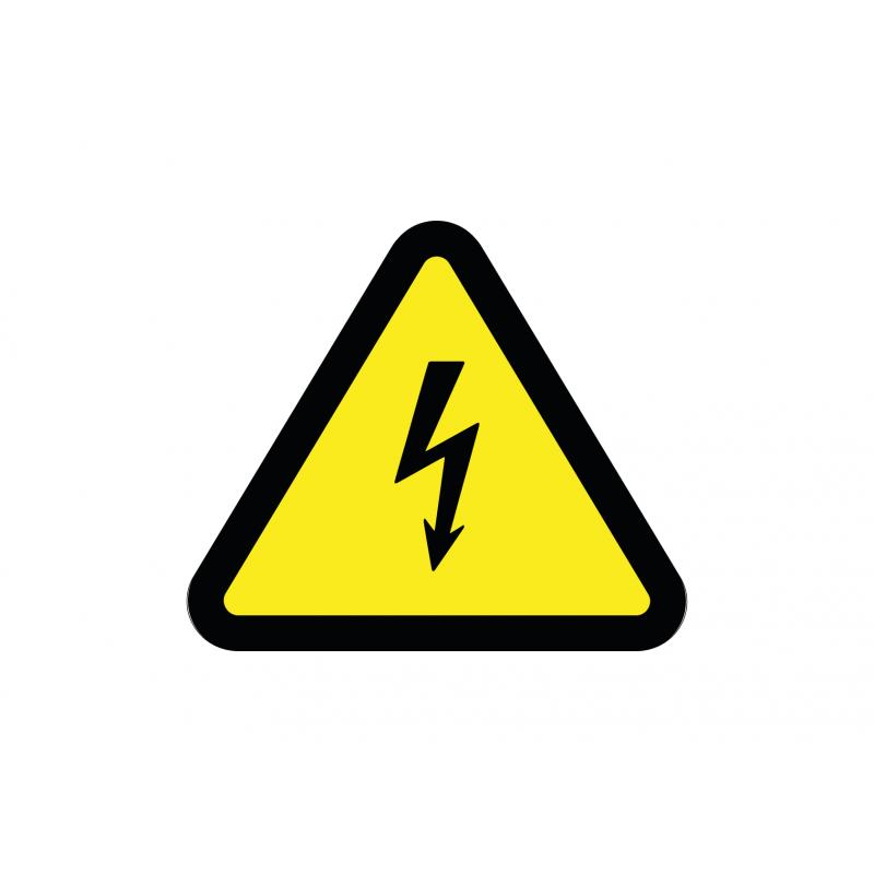 Pictogramme électricité Danger Sticker Autocollant