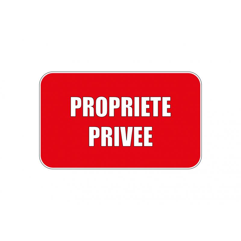 Propriété privée sticker, autocollant