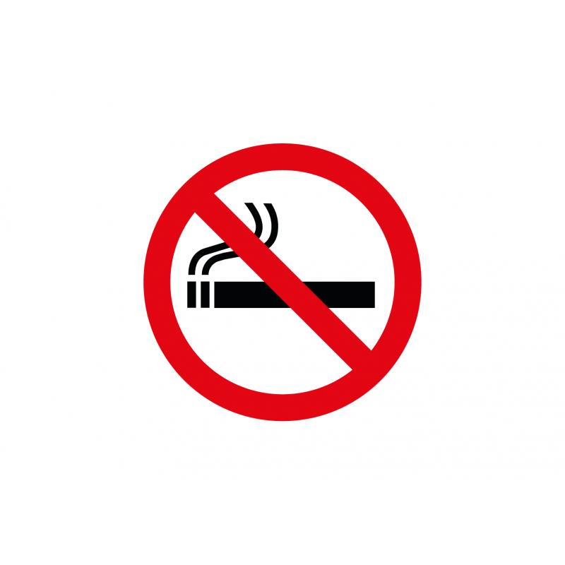 Interdit de fumer, cigarette interdite sticker autocollant